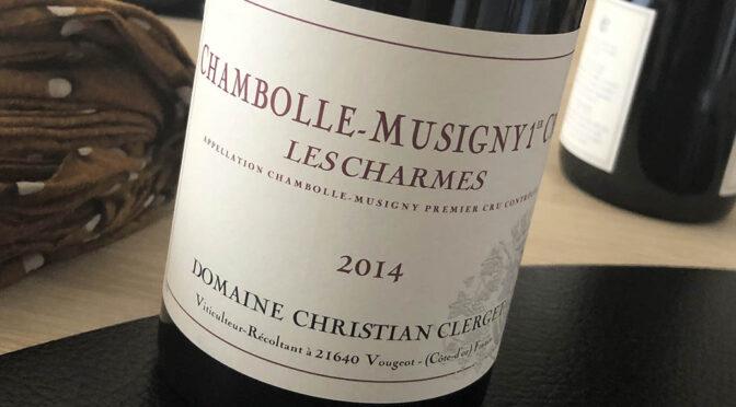 2014 Domaine Christian Clerget, Chambolle-Musigny 1er Cru Les Charmes, Bourgogne, Frankrig
