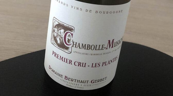 2017 Domaine Berthaut-Gerbet, Chambolle-Musigny 1er Cru Les Plantes, Bourgogne, Frankrig