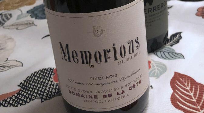 2014 Domaine de la Côte, Memorious Pinot Noir, Californien, USA