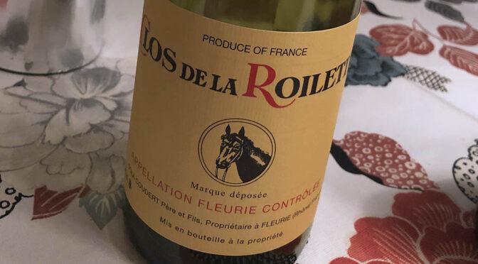 2019 Clos de la Roilette, Fleurie, Bourgogne, Frankrig