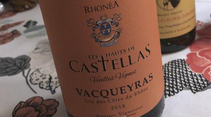 2018 Rhonéa Vignobles, Les Hauts de Castellas Vieilles Vignes Vacqueyras, Rhône, Frankrig