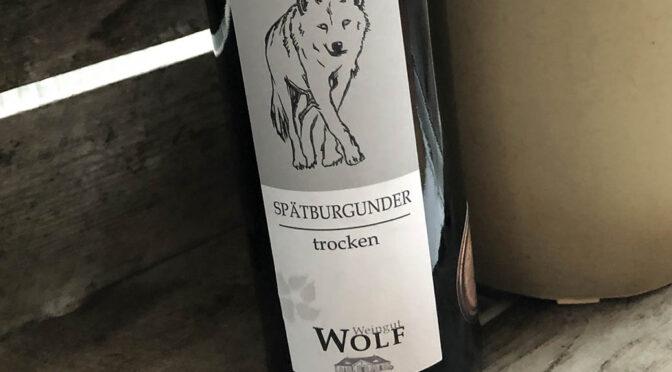 2017 Weingut Wolf, Ungsteiner Nußriegel Spätburgunder Trocken, Pfalz, Tyskland