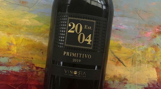 2019 Vinosìa, Est 2004 Primitivo, Puglia, Italien