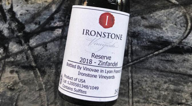 2018 Ironstone Vineyards, Reserve Old Vine Zinfandel, Californien, USA