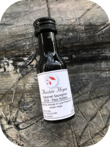 2018 Austin Hope Winery, Paso Robles Cabernet Sauvignon, Californien, USA
