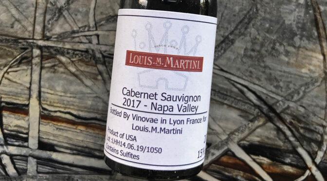 2017 Louis M. Martini, Napa Valley Cabernet Sauvignon, Californien, USA