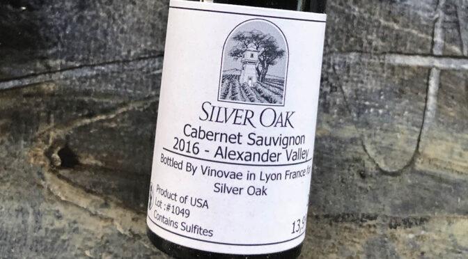 2016 Silver Oak, Alexander Valley Cabernet Sauvignon, Californien, USA