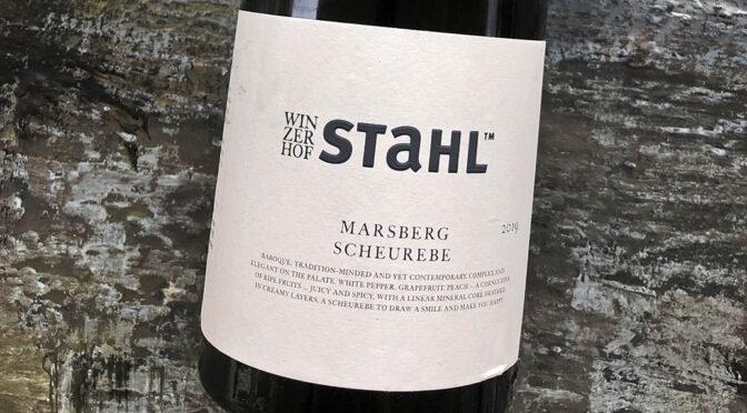 2019 Winzerhof Stahl, Marsberg Scheurebe, Franken, Tyskland