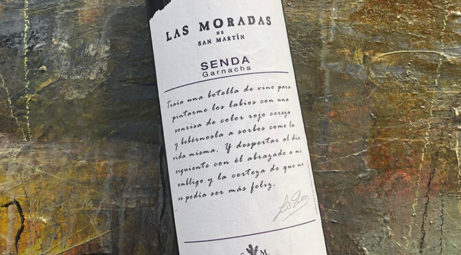 2017 Bodega Las Moradas de San Martín, Senda Garnacha, Madrid, Spanien