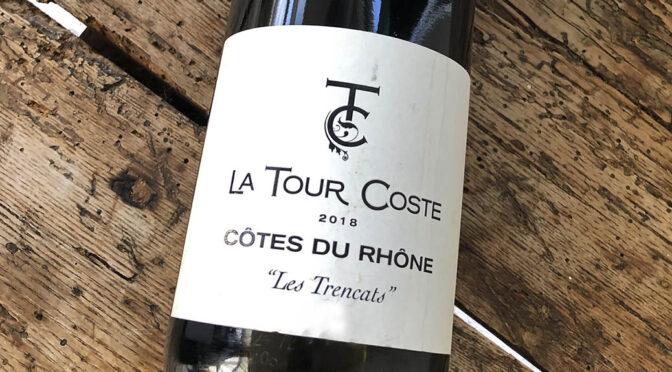 2018 Maison Les Deux Rhônes, La Tour Coste Côtes du Rhône Les Trencats, Rhône, Frankrig