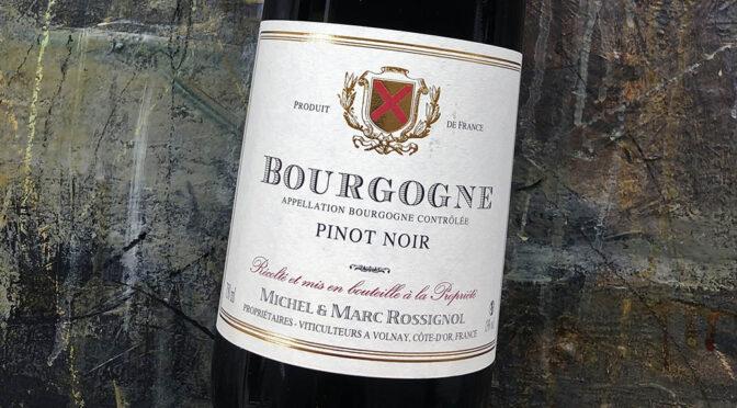 2016 Domaine Michel & Marc Rossignol, Bourgogne Pinot Noir, Bourgogne, Frankrig