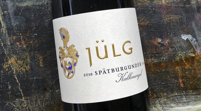 2018 Weingut Jülg, Kalkmergel Spätburgunder, Pfalz, Tyskland