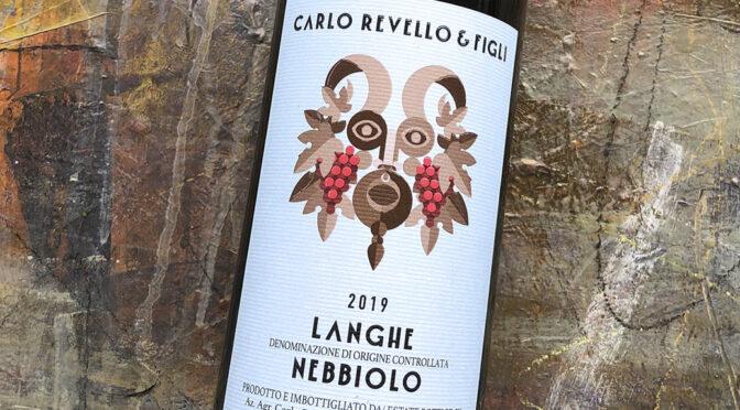 2019 Carlo Revello & Figli, Langhe Nebbiolo, Piemonte, Italien