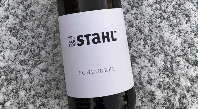 2020 Winzerhof Stahl, Scheurebe, Franken, Tyskland
