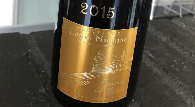 2015 Louis Nicaise, Meuniers des Moines Extra Brut, Champagne, Frankrig