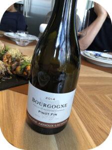 2014 Domaine Arnoux-Lachaux, Pinot Fin, Bourgogne, Frankrig