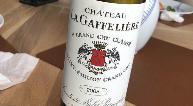 2008 Château La Gaffelière, Saint-Émilion Grand Cru Classé, Bordeaux, Frankrig