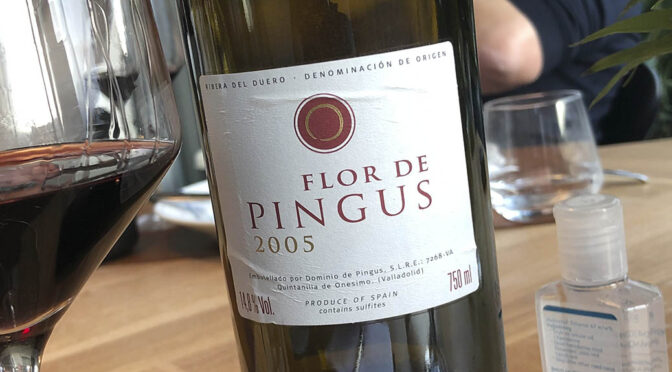 2005 Dominio de Pingus, Flor de Pingus, Ribera del Duero, Spanien