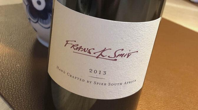 2013 Spier Wines, Frans K Smit, Stellenbosch, Sydafrika