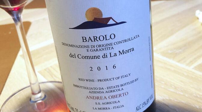 2016 Andrea Oberto, Barolo, Piemonte, Italien