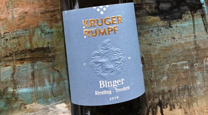 2019 Weingut Kruger-Rumpf, Binger Riesling, Rheinhessen, Tyskland