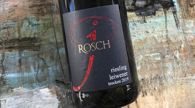 2019 Weingut Josef Rosch, Leiwener Riesling Trocken, Mosel, Tyskland