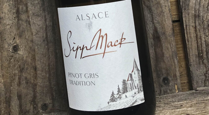 2018 Domaine Sipp Mack, Pinot Gris Tradition, Alsace, Frankrig