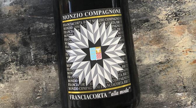 2018 Monzio Compagnoni, Franciacorta Brut Cuvée Alla Moda, Lombardiet, Italien