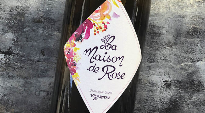 2019 La Maison de Rose, Novelin Savagnin Ouillé, Jura, Frankrig