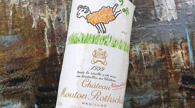 1999 Château Mouton Rothschild, Pauillac 1. Grand Cru Classé, Bordeaux, Frankrig