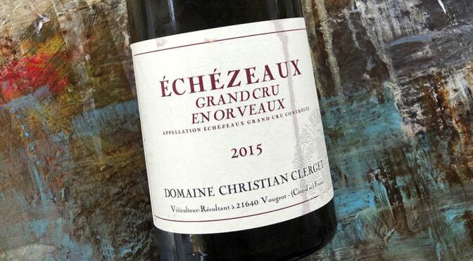 2015 Domaine Christian Clerget, Echezeaux Grand Cru en Orveaux, Bourgogne, Frankrig