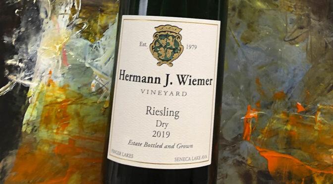 2019 Hermann J. Wiemer Vineyard, Dry Riesling, New York, USA