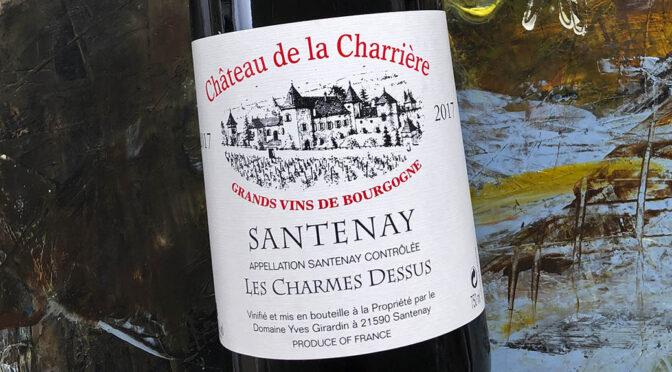 2017 Château de la Charrière, Santenay Les Charmes Dessus, Bourgogne, Frankrig