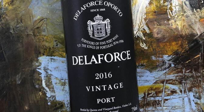 2016 Delaforce, Vintage Port, Douro, Portugal