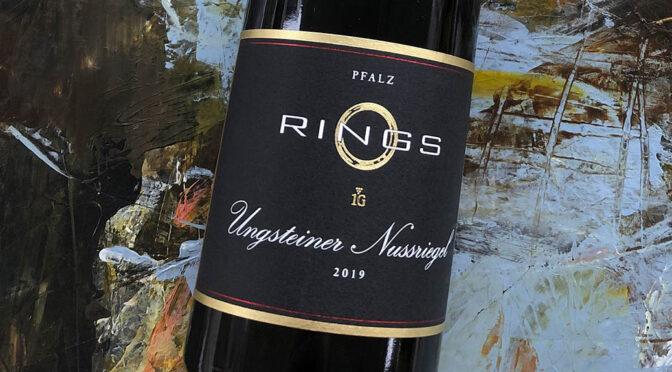 2019 Weingut Rings, Ungsteiner Nussriegel Riesling, Pfalz, Tyskland