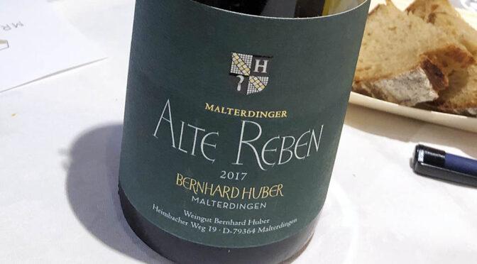 2017 Weingut Bernhard Huber, Malterdinger Chardonnay Alte Reben, Baden, Tyskland