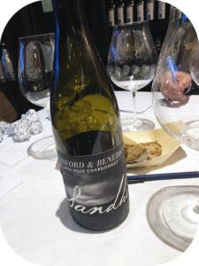 2018 Sandhi Wines, Sanford & Benedicte Chardonnay, Californien, USA