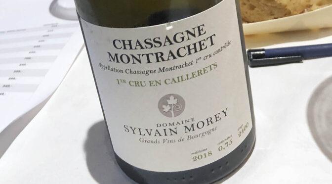 2018 Sylvain Morey, Chassagne-Montrachet 1er Cru Caillerets, Bourgogne, Frankrig