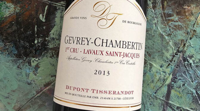 2013 Dupont Tisserandot, Gevrey-Chambertin 1er Cru Lavaux Saint-Jacques, Bourgogne, Frankrig