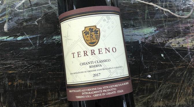 2017 Terreno, Chianti Classico Riserva, Toscana, Italien