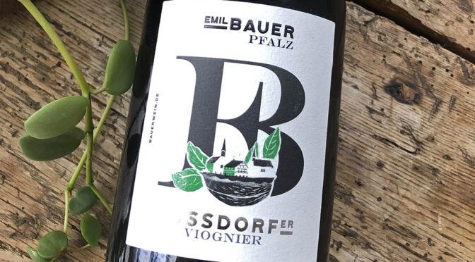 2020 Weingut Emil Bauer & Söhne, Nussdorfer Viognier, Pfalz, Tyskland