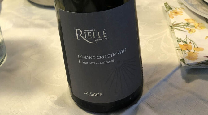 2015 Domaine Rieflé, Grand Cru Steinert Pinot Gris, Alsace, Frankrig