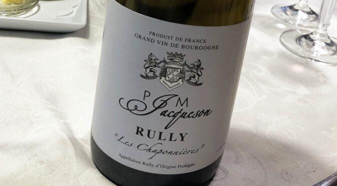2019 Domaine Jacqueson, Rully Les Chaponnières, Bourgogne, Frankrig