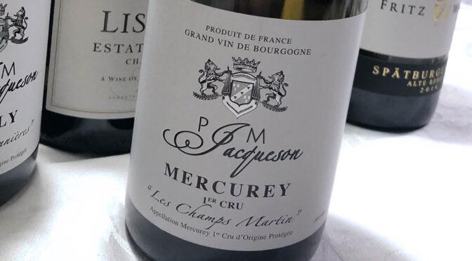 2019 Domaine Jacqueson, Mercurey 1er Cru Les Champs Martin, Bourgogne, Frankrig