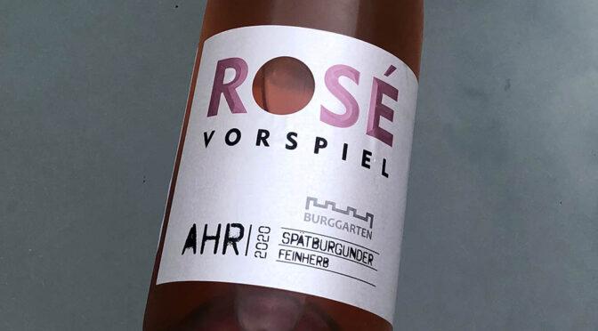 2020 Weingut Burggarten, Rosé Vorspiel Spätburgunder Feinherb, Ahr, Tyskland