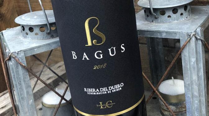 2018 Bodegas López Cristobal, Bagús, Ribera del Duero, Spanien