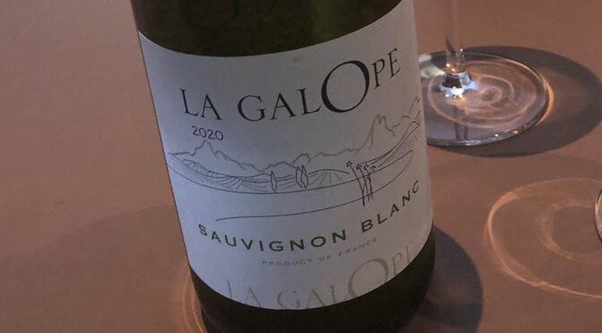 2020 Domaine de l'Herré, La Galope Sauvignon Blanc, Gascogne, Frankrig