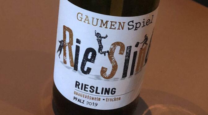 2019 Peter Mertes KG Weinkellerei, Riesling Gaumenspiel Trocken, Pfalz, Tyskland