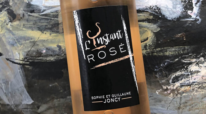 2017 Domaine Joncy, L'Instant Rosé 2019, Bourgogne, Frankrig