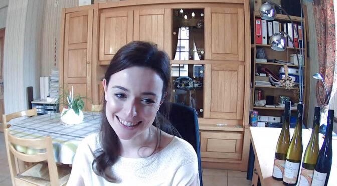 Houlberg til Millésimes Alsace DigiTasting® … Sophie Barmès fra Domaine Barmès-Buecher
